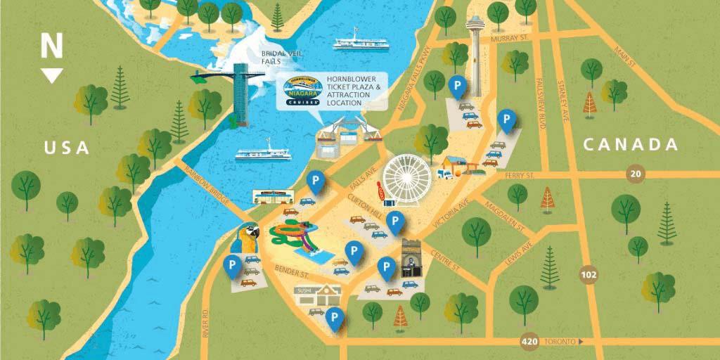 Parking Niagara Ultimate Cruises