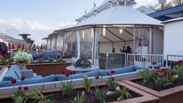 Hornblower Patio Private Event Tent